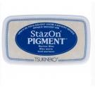 Almohadilla tinta  Stazon - Pigment  AZUL MARINO