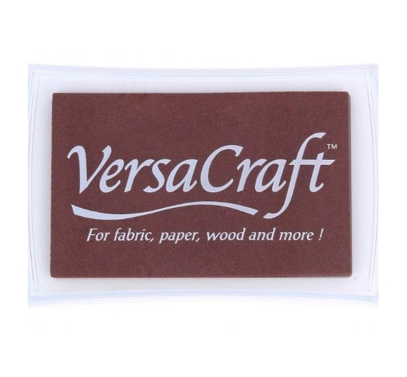 Tampon de tinta Versacraft de 50gr , color CHOCOLATE