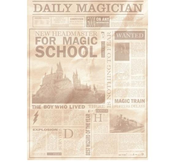 PAPEL ARROZ  Escuela de Magia Escena de Artis Decor