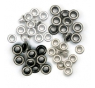 Eyelets aluminium We R Memory Keepers Metalic