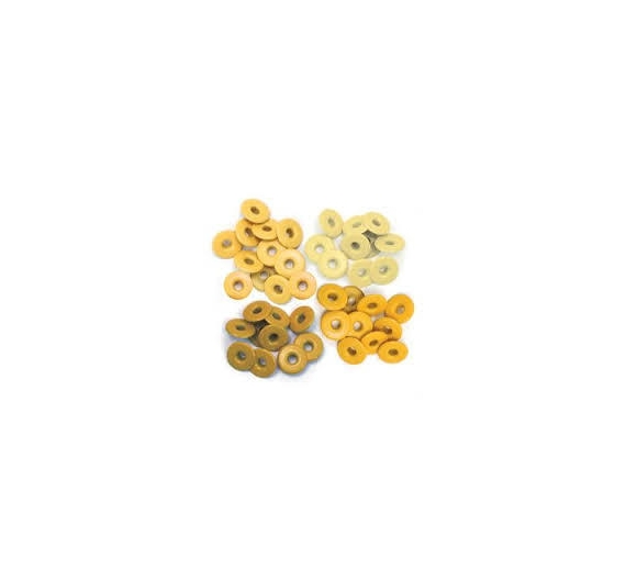 Eyelets aluminium We R Memory Keepers Yellow