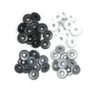 Eyelets aluminium We R Memory Keepers Black